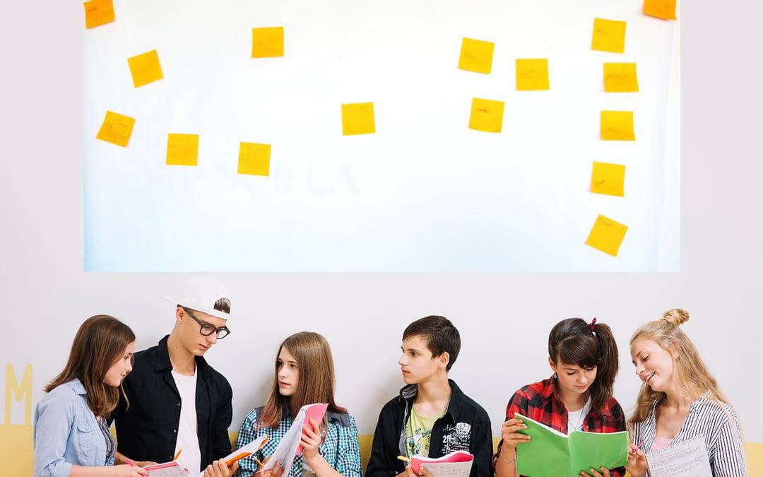 Crear un carné de convivencia, cuando los alumnos crean su carné de convivencia