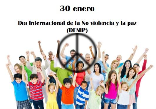 Día de la no violencia y la paz